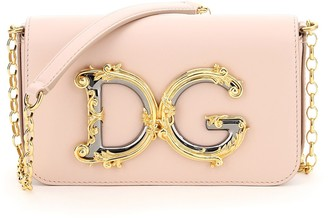 Dolce & Gabbana Girls Chain Crossbody Bag