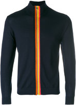 Paul Smith knitted zip jacket