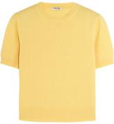 Miu Miu Cashmere Sweater - Pastel yellow