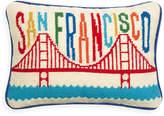 Jonathan Adler San Francisco Needlepoint Pillow