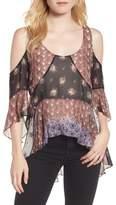 Rebecca Minkoff Women's Chelsea Cold Shoulder Top