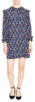 Sandro Women's Paisley Silk Shift Dress