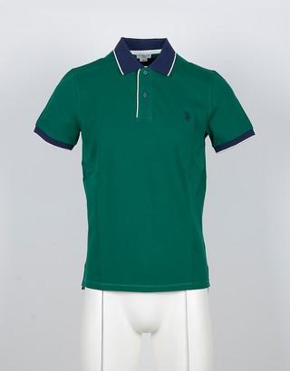 U.S. Polo Assn. Emerald Green Cotton Men's Polo Shirt