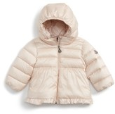 Moncler Infant Girl's Odile Hooded Water Resistant Down Jacket