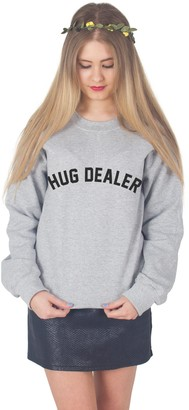 Sanfran Clothing Sanfran - Hug Dealer Sweater - Small/Sport Grey