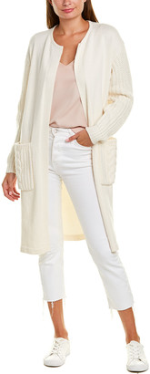 Vince Camuto Cable-Stitch Cardigan