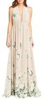 Show Me Your Mumu Women's Luna Halter Gown