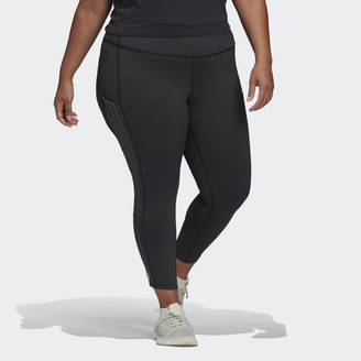 adidas x Universal Standard 3-Stripes 7/8 Tights (Plus Size)