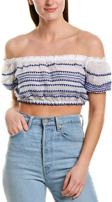 Lemlem Lulu Cropped Top