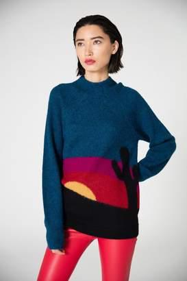 Veda Big Bend Sweater Cactus Sunset