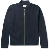 Folk - Cotton-blend Piqué Bomber Jacket