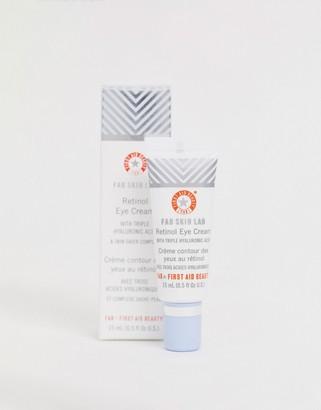 First Aid Beauty Skin Lab Retinol Eye Cream with Hyaluronic Acid 0.5 fl oz-No Color