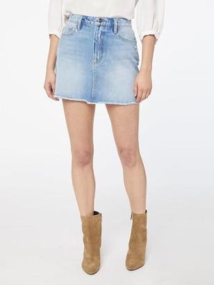 Frame Le Mini Skirt Raw Edge