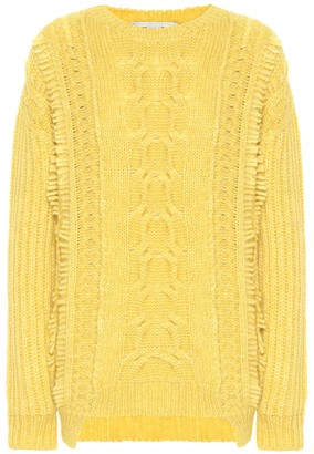 Stella McCartney Alpaca and wool-blend sweater