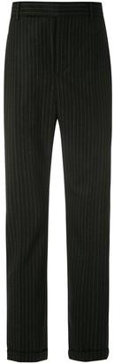 Saint Laurent Pinstripes Tailored Trousers