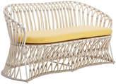 David Francis Furniture Almalfi Loveseat - Buttercup