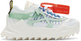 Off-White Off White White and Blue Odsy-1000 Sneakers