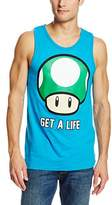Nintendo Men's Get A Life- Tank T-Shirt