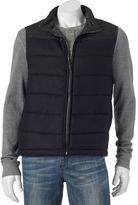 Apt. 9 Men's Modern-Fit Mixed Media Wool-Blend Puffer Vest
