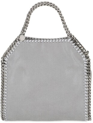 Stella McCartney MINI 3CHAIN SHAGGY FAUX DEER BAG