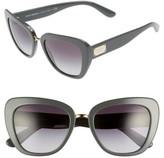 Dolce & Gabbana Women's 53Mm Gradient Cat Eye Sunglasses - Grey