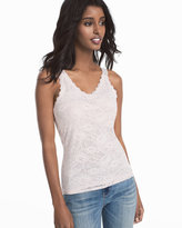 White House Black Market All-Over Lace Cami