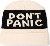 Marc by Marc Jacobs Don't Panic merino wool beanie