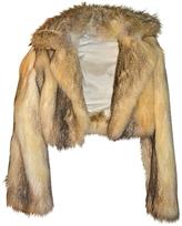 Chloé Beige Fur Jacket