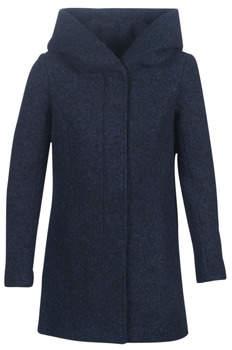 Only ONLSEDONA women's Coat in Blue