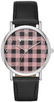 Arizona Womens Black Strap Watch-Fmdarz137