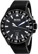 HUGO BOSS Deep Ocean 1513229 Men's Black Silicone and Stainless Steel Watch