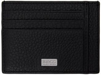 HUGO BOSS Boss Black Leather Card Holder