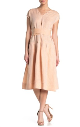 Lafayette 148 New York Remington Linen Dress