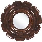 Surya Bronzed Posey Mirror