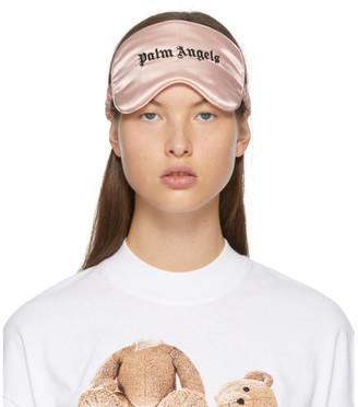 Palm Angels Pink Silk Sleep Eye Mask