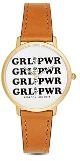 Rebecca Minkoff Major Grl Pwr Watch, 35mm