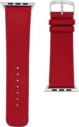 Jean Rousseau Leather Apple Watch Series 4-5 Strap (38mm)