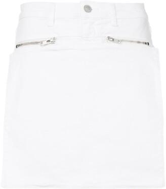 Alyx White Denim Skirt