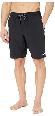Nike 9 Contend Volley Shorts (Black) Men's Swimwear
