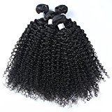 "Nami Hair Brazilian Kinky Curly Virgin Human Hair Weave Extensions 4 Bundles 12"" - 28"" Brazilian Human Hair Weave Bundles (24 24 24 24)"