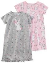 Carter's Girls 4-14 2-pk. Night Gown Set