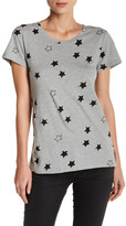 French Connection Star Print Short Sleeve Tee