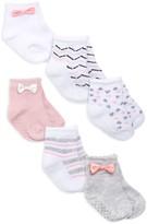 Aden Anais Baby Girl's Bows 6-Piece Socks Set
