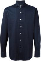Canali plain shirt - men - Cotton - M