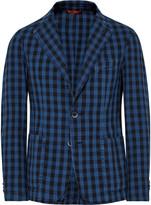 Barena - Buffalo Checked Cotton Blazer