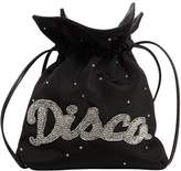 Les Petits Joueurs Trilly Disco Embellished Satin Bag