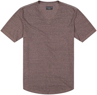 Goodlife Overdyed Triblend Scallop V-Neck T-Shirt