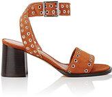 Derek Lam Women's Jacquix Embellished Suede Sandals