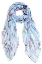 Nordstrom Women's Wildflower Spray Scarf