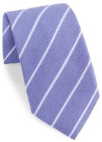 John Varvatos Striped Silk-Blend Tie